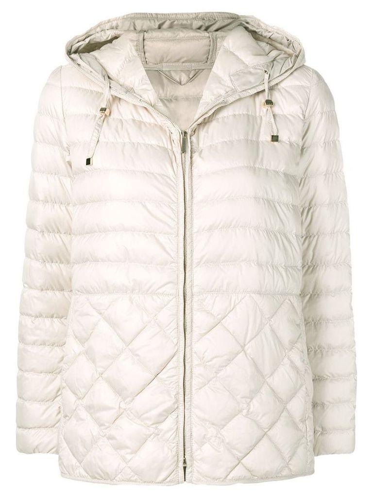 Max Mara padded hooded jacket - Neutrals