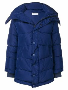 Balenciaga New swing puffer jacket - Blue
