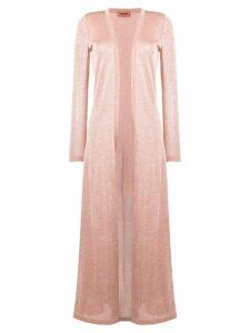 Missoni glitter elongated cardigan - Pink