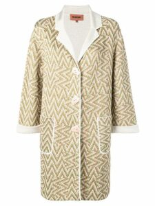Missoni cardigan coat - Neutrals