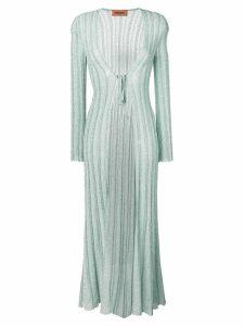 Missoni glitter elongated cardigan - Green