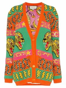 Gucci sequin embellished lined knitted cardigan - Multicolour