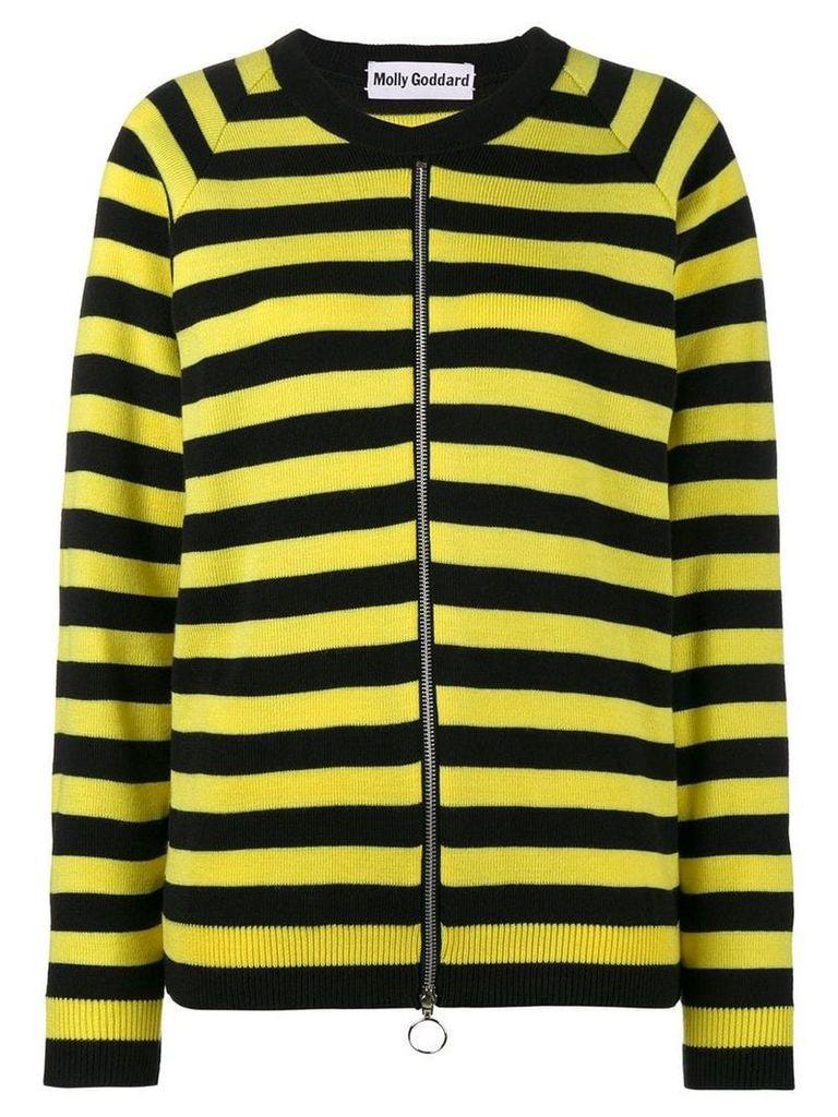 Molly Goddard kirk striped cardigan - Black