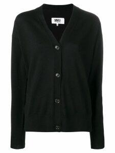 Mm6 Maison Margiela MM6 knitted cardigan - Black