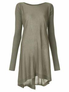 Rick Owens draped jumper - Grey