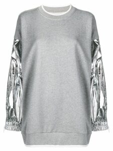 Maison Margiela oversized sweatshirt - Grey