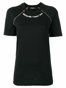 Dsquared2 Because I Want You T-shirt - Black