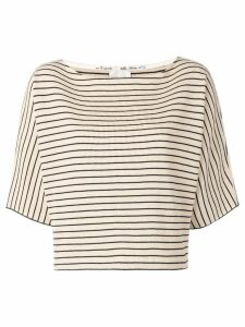 Forte Forte classic striped T-shirt - Neutrals