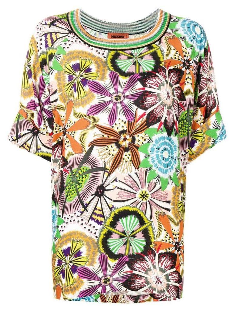 Missoni floral print T-shirt - Sm831