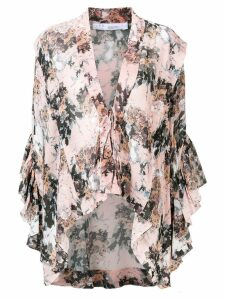 IRO patterned kimono top - Pink