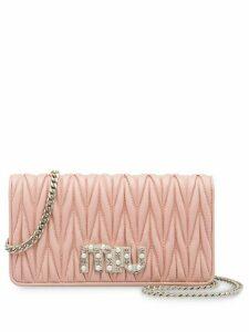 Miu Miu Matelassé mini bag - Pink