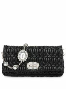 Miu Miu Miu Miu Iconic Crystal bag - Black