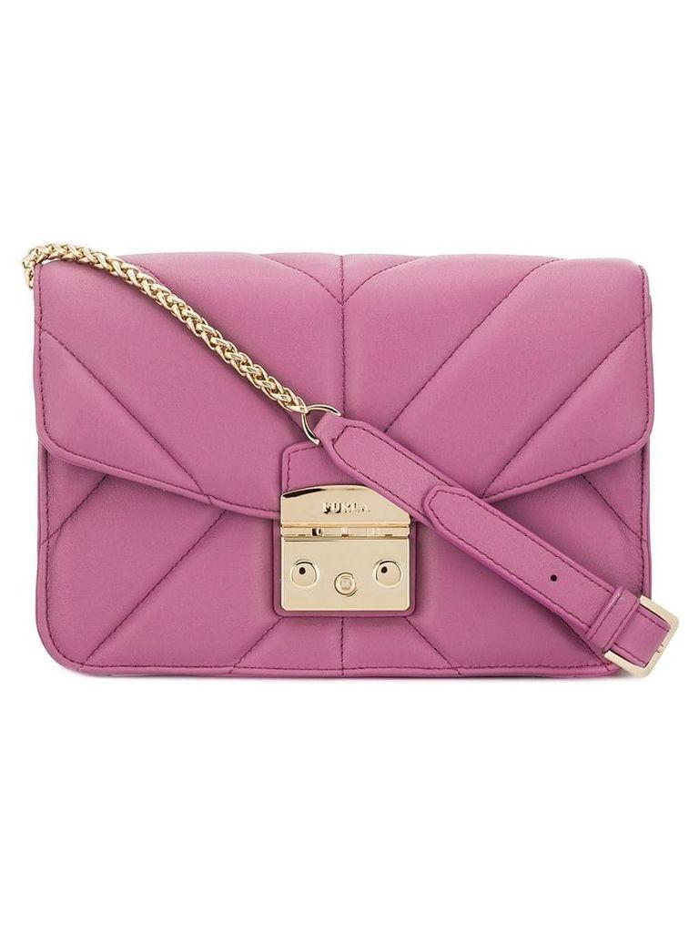 Furla Metropolis quilted shoulder bag - Pink