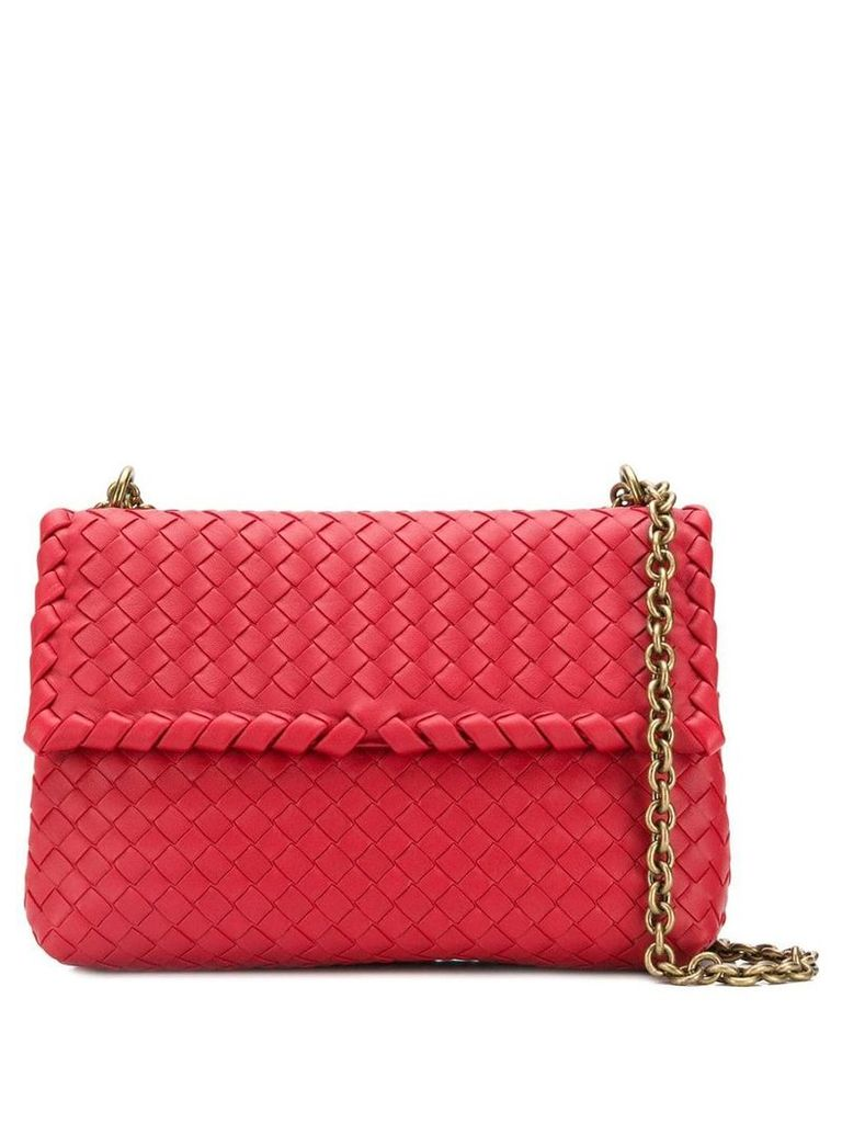 Bottega Veneta Olympia bag - Red