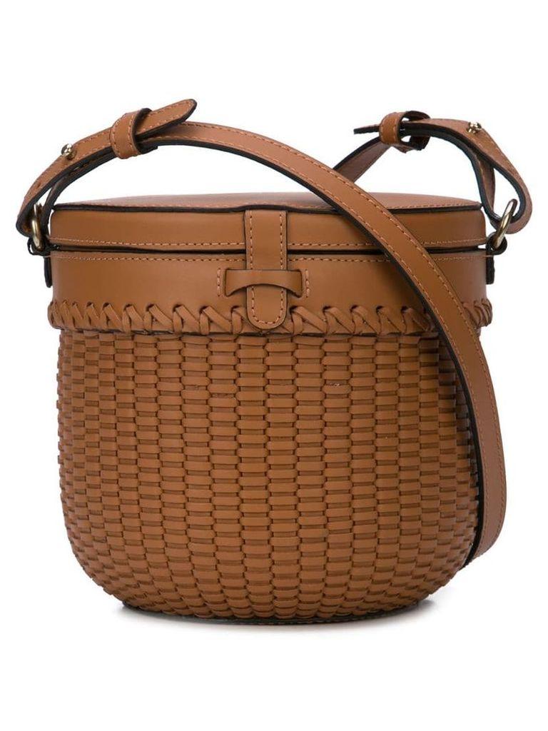Wai Wai Cantil Amber bag - Brown