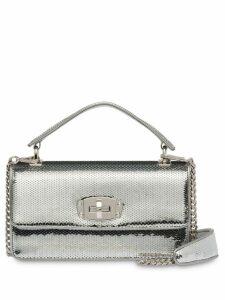 Miu Miu Miu Cleo sequin shoulder bag - Silver