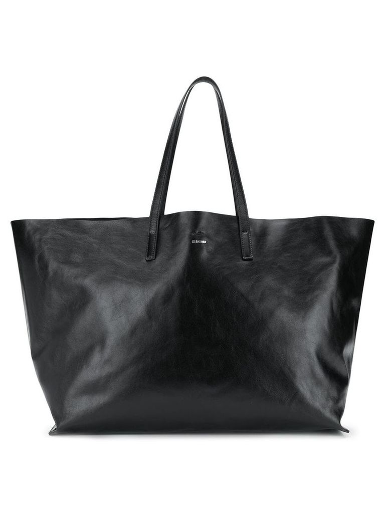Jil Sander large tote bag - Black