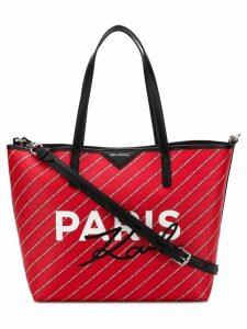 Karl Lagerfeld Paris tote - Red