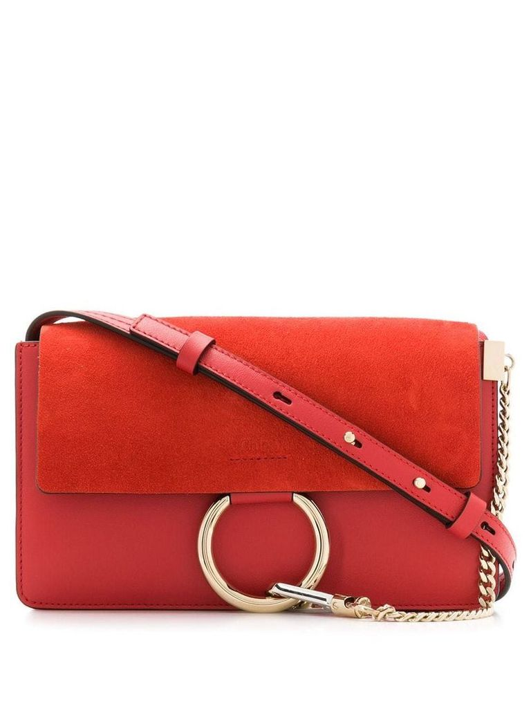Chloé Faye crossbody bag - Red