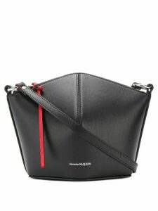 Alexander McQueen trapeze crossbody bag - Black