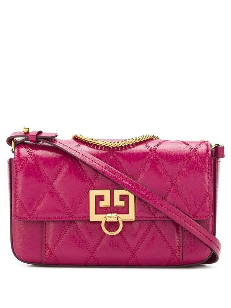Givenchy quilted cross body bag - Pink