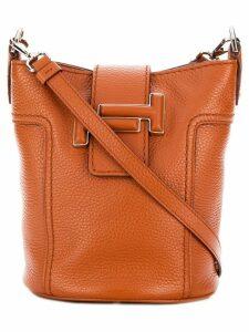 Tod's bucket tote bag - Brown
