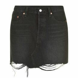 Levis Deconstructed Skirt