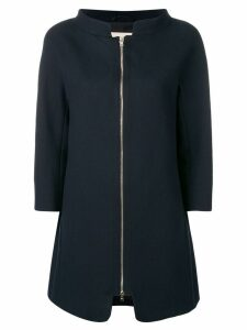 Herno zipped coat - Blue