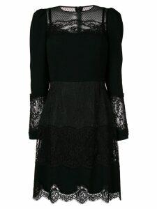 Dolce & Gabbana lace panel dress - Black
