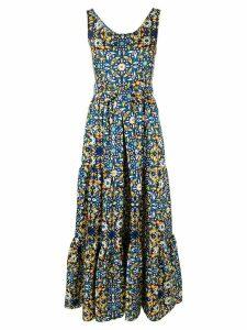 La Doublej Pellican dinner dress - Blue