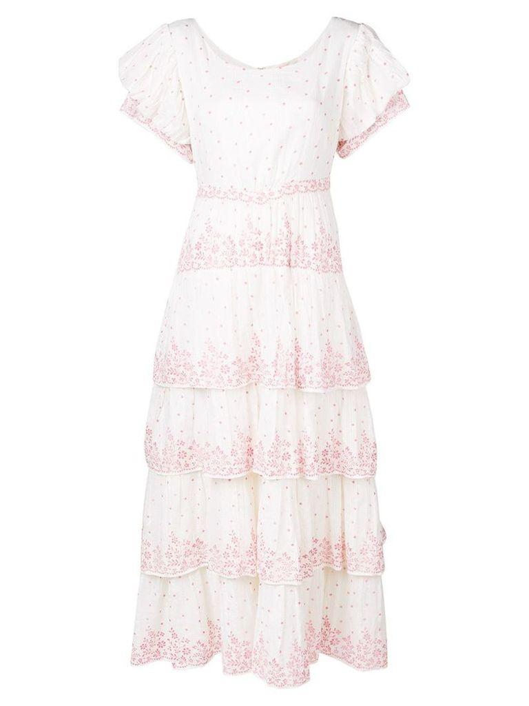 Love Shack Fancy Martine dress - White