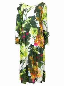 Blugirl all-over print dress - Green