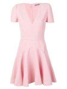 Alexander McQueen short skater dress - Pink
