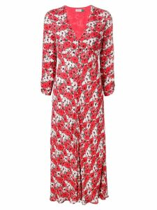Rixo Katie floral dress - Red