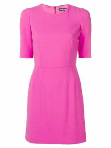 Dolce & Gabbana shortsleeved fitted dress - Pink