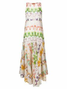 Missoni long printed dress - Neutrals