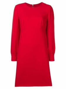 Boutique Moschino classic shift dress - Red