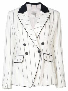 Jonathan Simkhai striped blazer - White