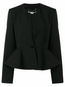 Stella McCartney peplum blazer - Black