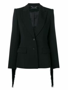 Alberta Ferretti plain fitted blazer - Black