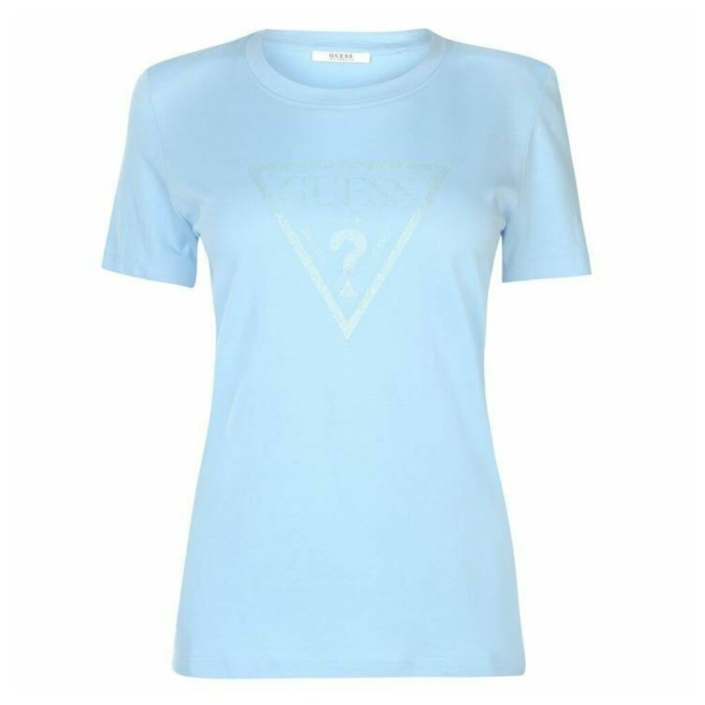 Guess Glow T Shirt Womens