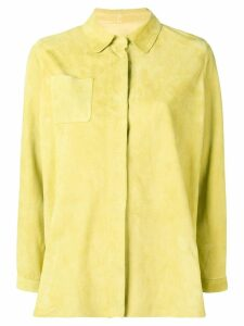 Sylvie Schimmel shirt jacket - Yellow