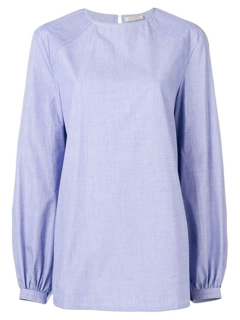 Nina Ricci oversized blouse - Blue