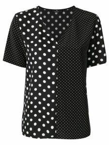 PS Paul Smith polka dot blouse - Black