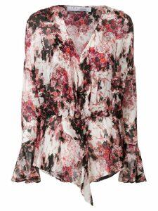 Iro all-over print blouse - White