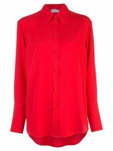 Sonia Rykiel monochrome shirt - Red