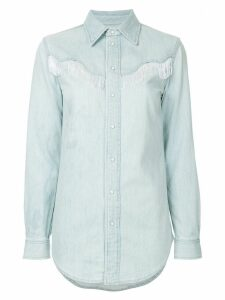 Ganni Trinity denim shirt - Blue