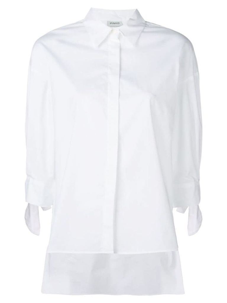Pinko plain poplin shirt - White
