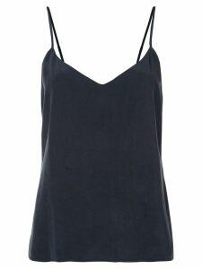 L'Agence basic silk top - Blue