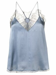 Iro lace detail top - Gry01 Grey